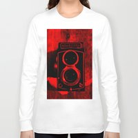 vintage camera Long Sleeve T-shirts featuring Camera by short stories gallery