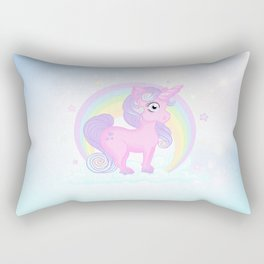 Baby pastel unicorn Rectangular Pillow