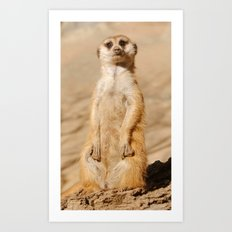 Dirty Paws Art Print