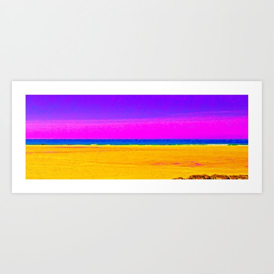 Sea Sand and Sun ! Art Print