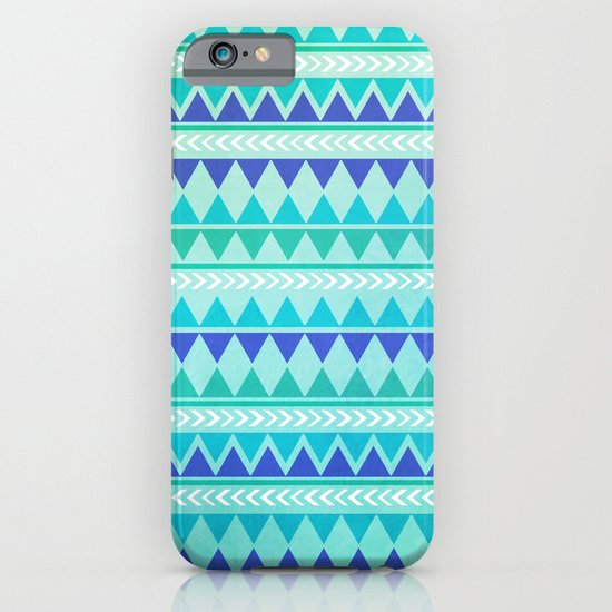 Winter Aztec Pattern iPhone & iPod Case