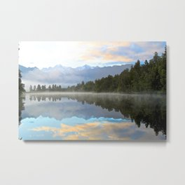 Early Morning Reflections Landscape Metal Print