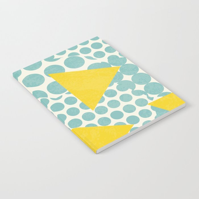 Dots and Triangles Notebook