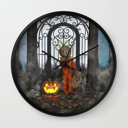 Trick R Treat Wall Clock