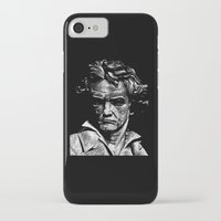 beethoven iPhone & iPod Cases featuring Beethoven by G_Stevenson