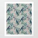 Kokako Wallpaper Pattern by katrinaward