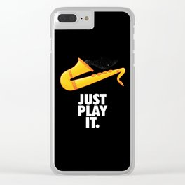 Just Play It Clear iPhone Case