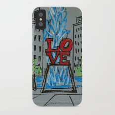 Little Love Park Sketch Slim Case iPhone X