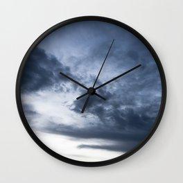 clouds 03 Wall Clock