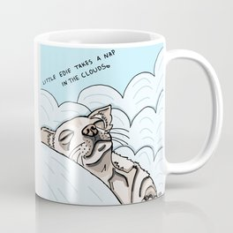 Little Edie Takes A Nap In The Clouds Coffee Mug