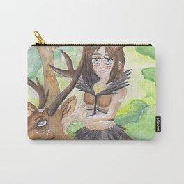 Deer Girl Carry-All Pouch