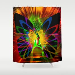 New York Nyc - Statue Of Liberty 3 Shower Curtain