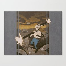 Contra - 8-Bit Canvas Print