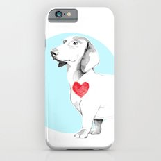 Long dog iPhone 6s Slim Case