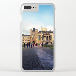 Trinity College Clear iPhone Case