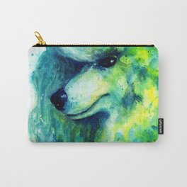 Poodle Adam Carry-All Pouch