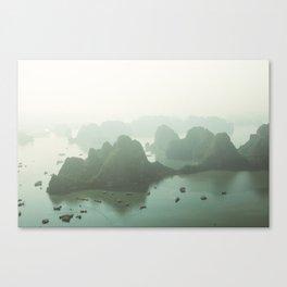Ha Long Bay Glow Canvas Print
