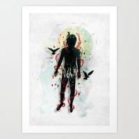 broken Art Prints featuring Broken by Fil Gouvea