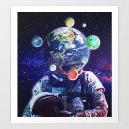 Orbital Complexion Art Print