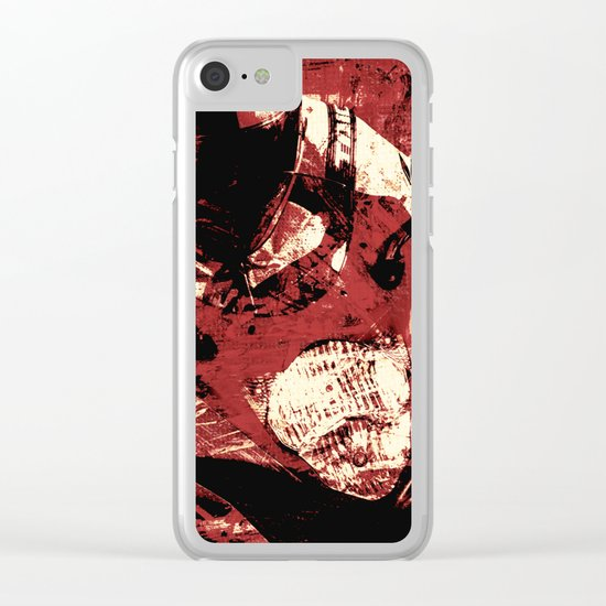Piloting in Hell Clear iPhone Case