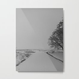 | Never-ending No. 36 - or never-ending winter | Metal Print