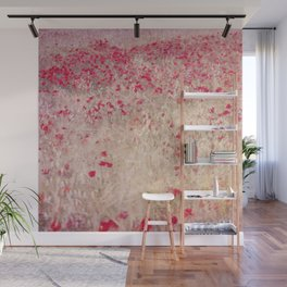 Fields of poppies Wall Mural