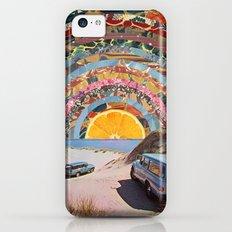 Orange sunset iPhone 5c Slim Case