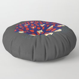 We are the Champignons Floor Pillow