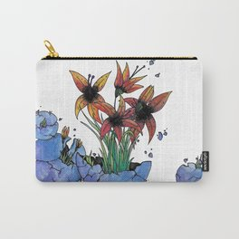Egg Flower Carry-All Pouch