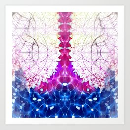 Flower of Life - Fractal Image Art Print