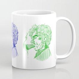 London Smoking Habit (Lineart) Coffee Mug