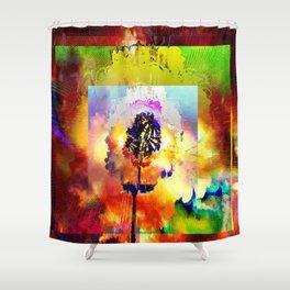 Filaments Shower Curtain
