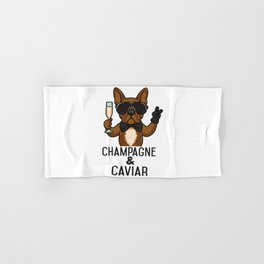 Champagne and Caviar Hand & Bath Towel