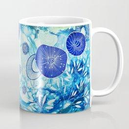 Cyan ocean Coffee Mug
