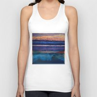 square Tank Tops featuring Square by Anna Harding