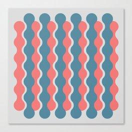 Midcentury Pattern 05 Canvas Print