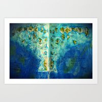 neverland Art Prints featuring Neverland by Tiny-firefly Art