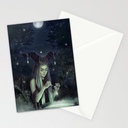 The Moon Witch Stationery Cards