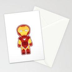 Chibi Iron Man Stationery Cards