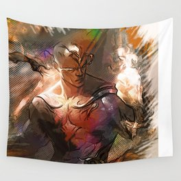 League of Legends GOD FIST LEE SIN Wall Tapestry