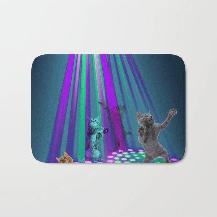 cats party Bath Mat