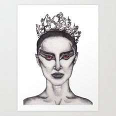 Natalie Portman - Black Swan Art Print