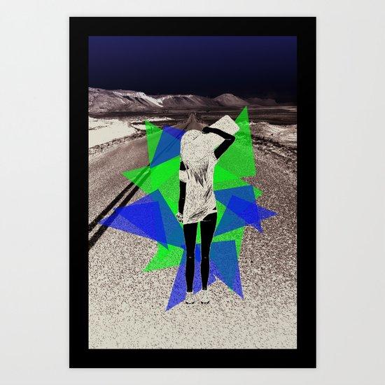 Skater Girl Art Print