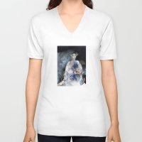 virginia V-neck T-shirts featuring Virginia by Iris V.
