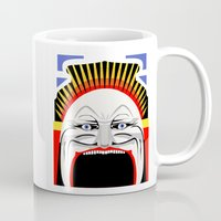 melbourne Mugs featuring Melbourne (Full Face Version) by George Williams