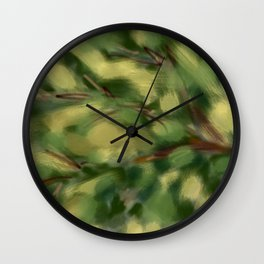 How May Looks Wall Clock