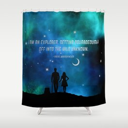 Cress and thorne Shower Curtain