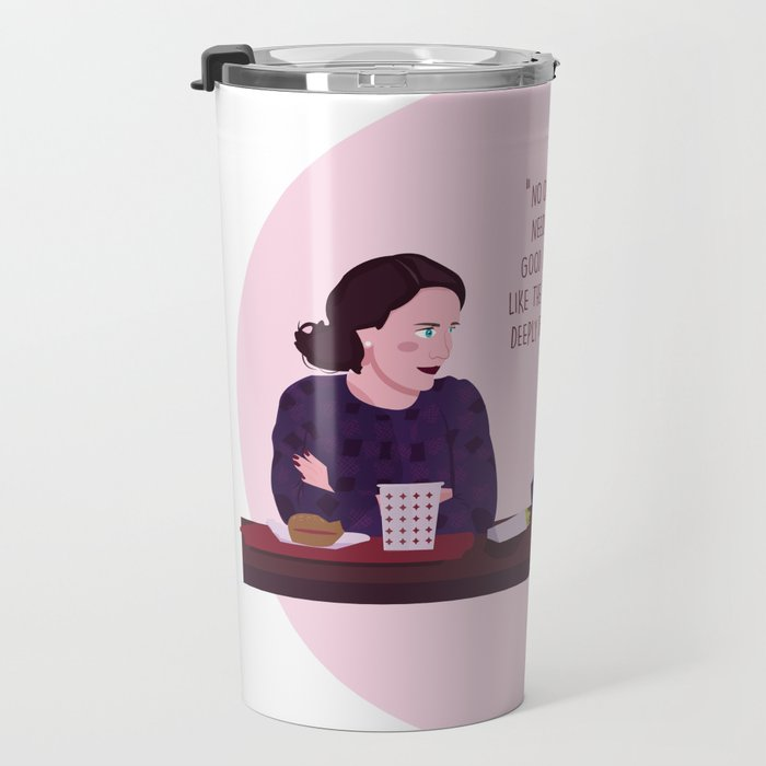 The Marvelous Mrs.Maisel Illustration Travel Mug