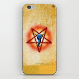 NATIVE PENTAGRAM - 018 iPhone Skin