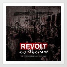 Revolt : Black Friday Art Print